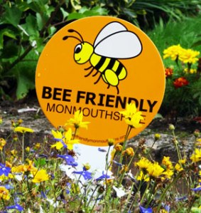 Bee Friendly Sign